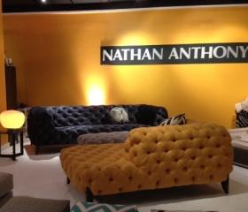Sabine sofa at High Point Market ~ Spring 2013